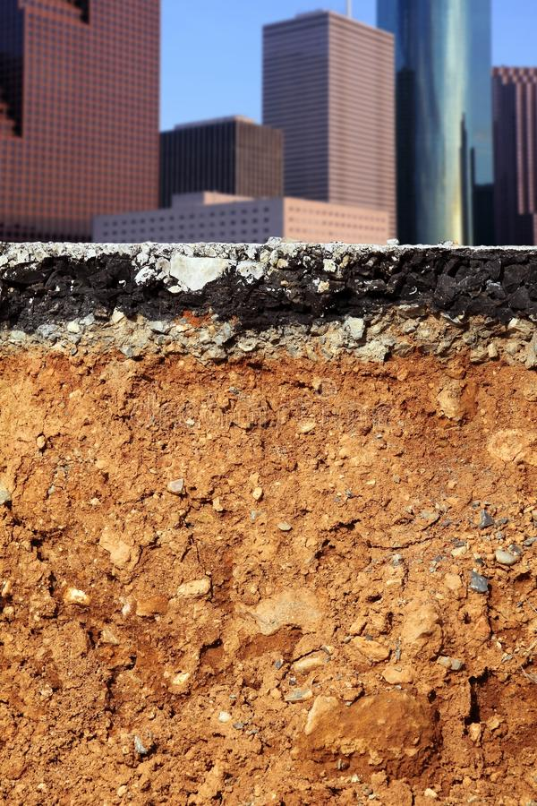 Download Road Excavation Earthquake City Cross Section Stock Image - Image: 13972283