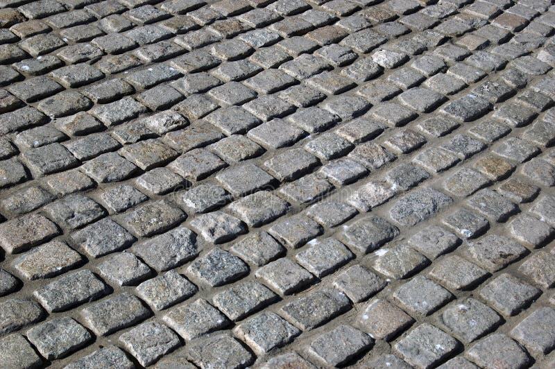 Road granite stones