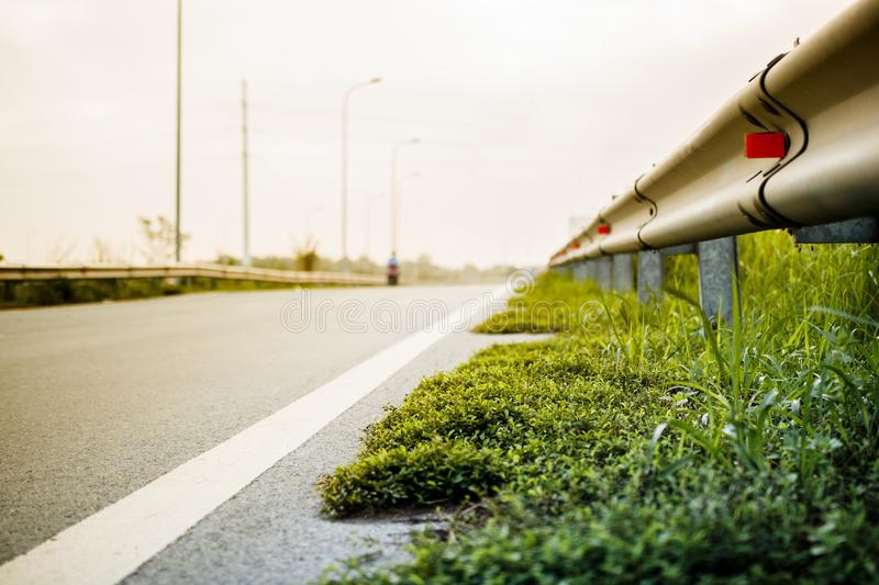 Road, Green, Yellow, Infrastructure royalty free stock image