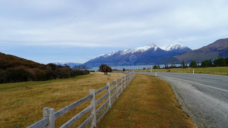 Road, Highland, Mountainous Landforms, Sky stock photography