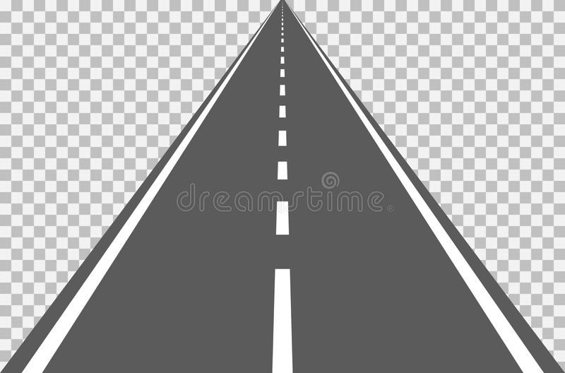 Road highway stock illustration