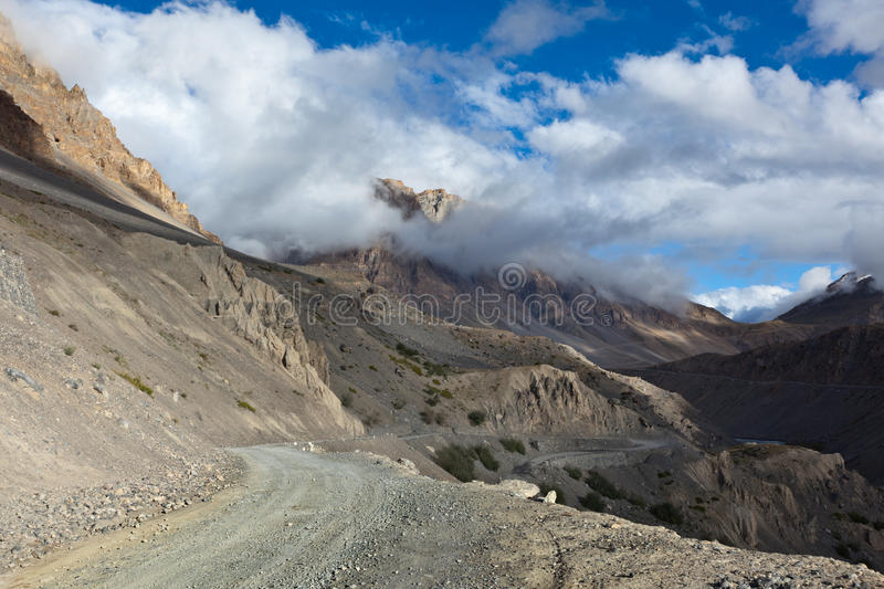 Download Road In Himalayas Royalty Free Stock Image - Image: 21377886