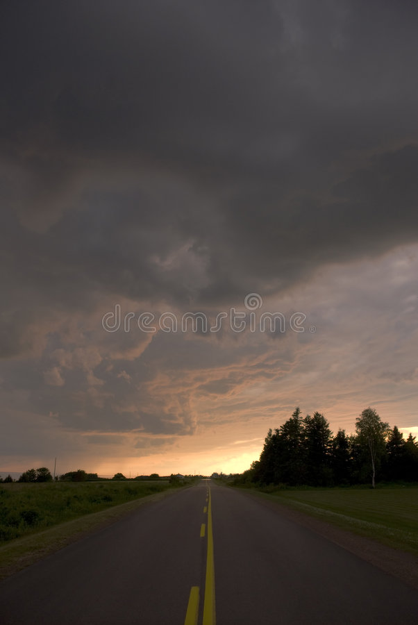 The Road Home royalty free stock photography