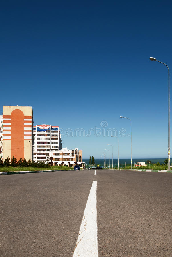 Free Road In The City Stock Images - 14649674