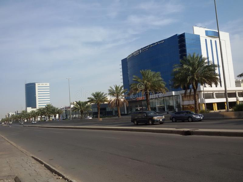 Road in jeddah stock photos