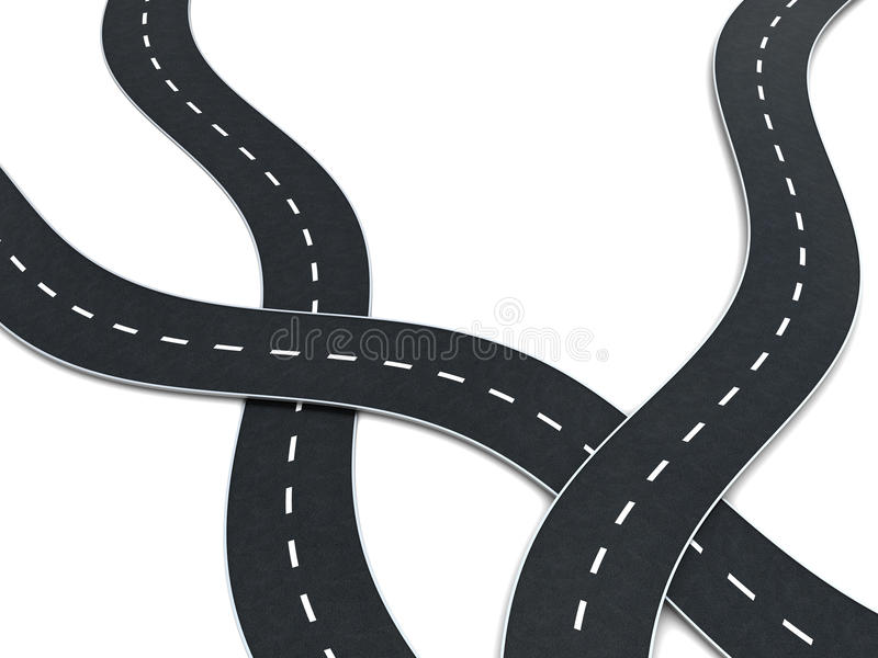 Download Road Knot Royalty Free Stock Images - Image: 9465809
