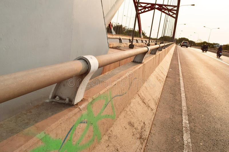 Road, Lane, Guard Rail, Pipeline Transport royalty free stock photography