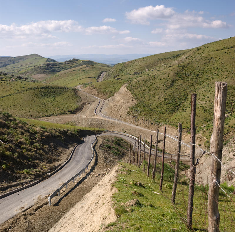 Download Road Leading Down stock image. Image of agriculture, outside - 12960719