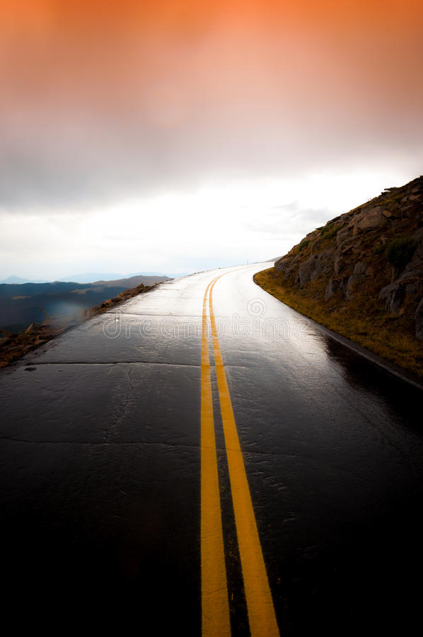 Road to Explore royalty free stock image