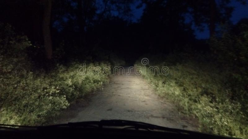 Road that leads no where but somewhere royalty free stock photos