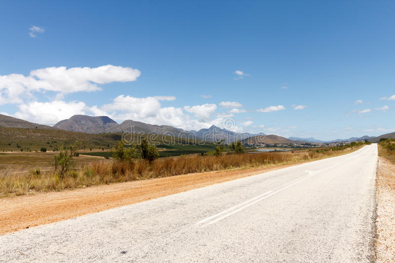 Road Lines Leading to NoWhere royalty free stock photography