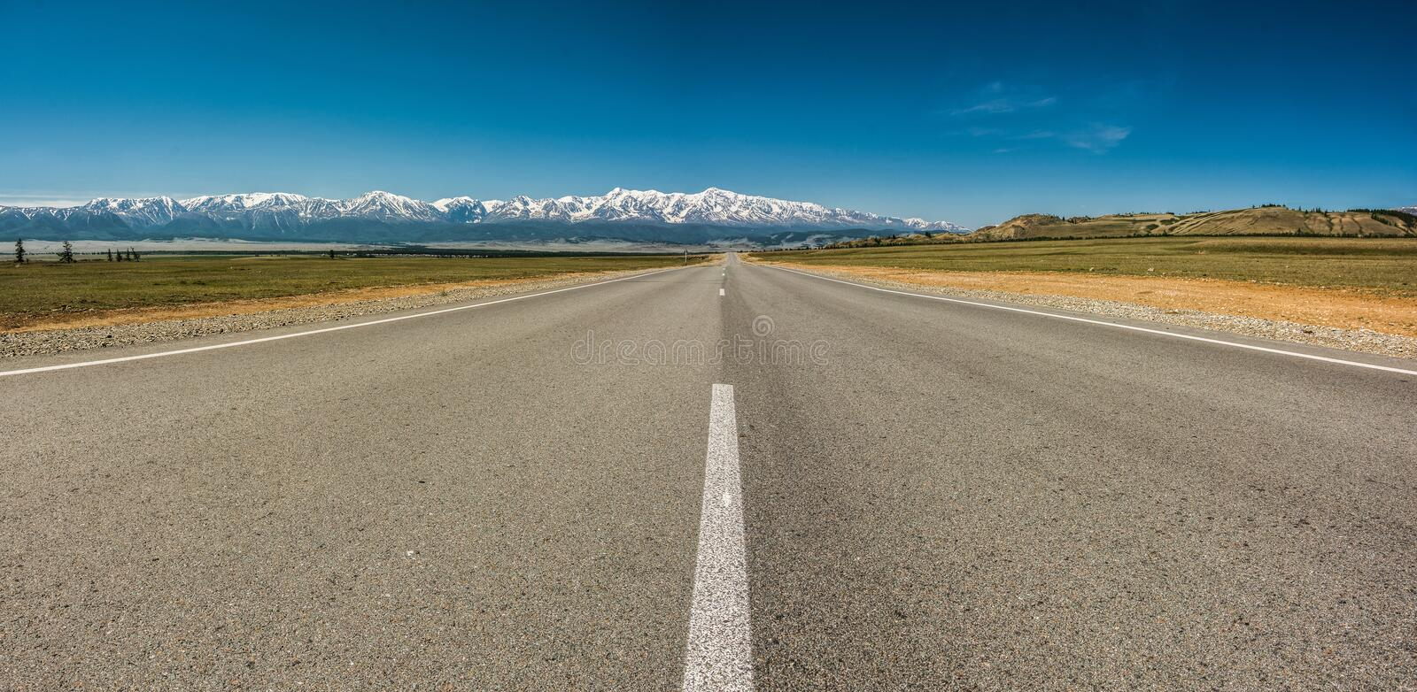 Road M 52 royalty free stock photo
