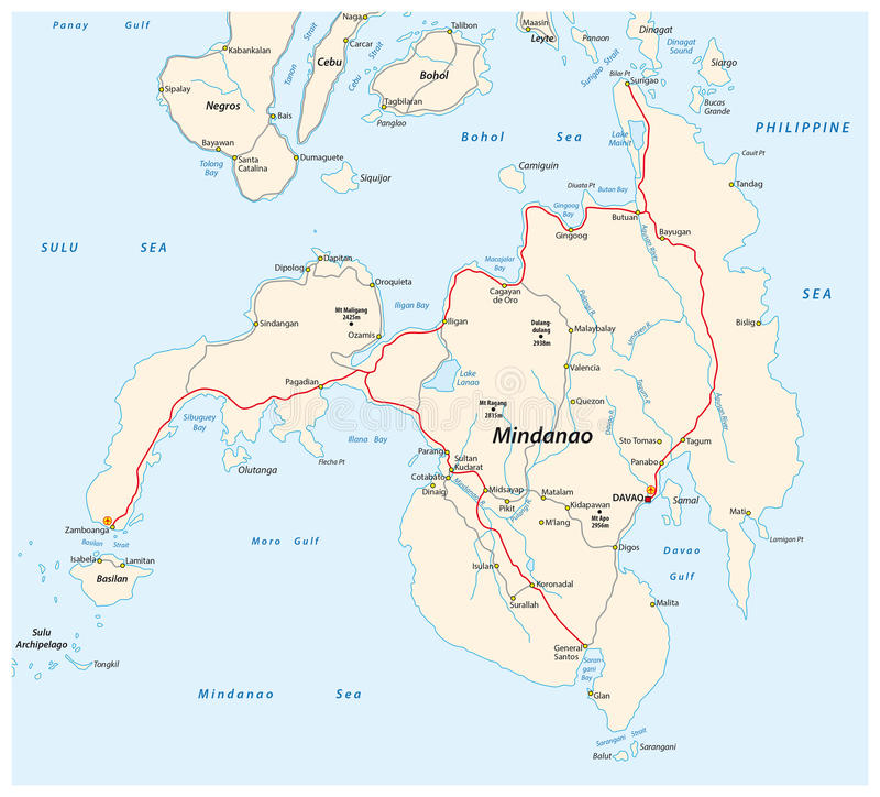 Philippine Islands On World Map