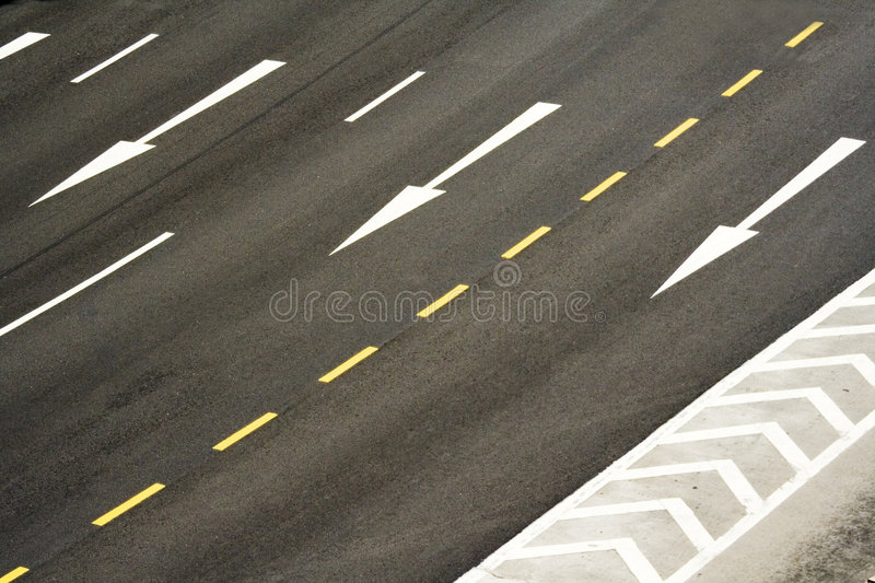 Download Road markings stock image. Image of background, crossing - 1916285