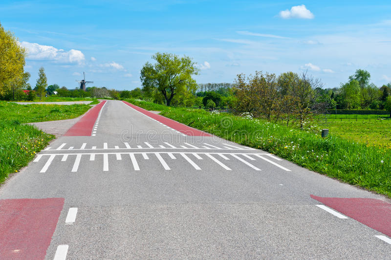 Download Road Markings stock image. Image of nature, bicycle, highway - 25371501