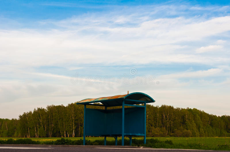 Download Road and the meadows stock image. Image of horizon, outdoor - 24757901