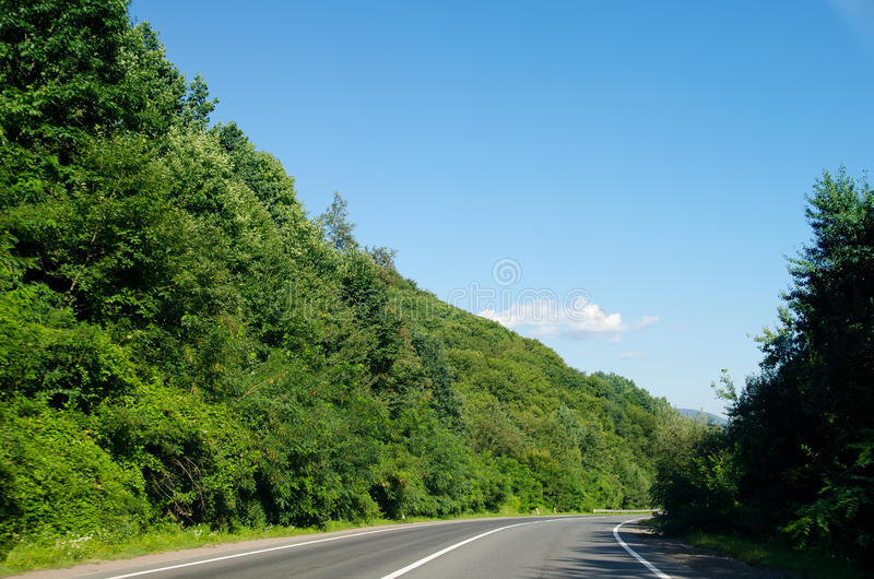 Download Road in mountain stock photo. Image of roadway, motion - 23107630