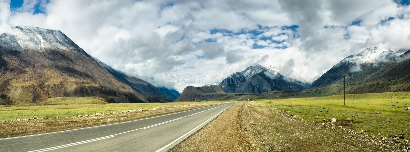 Download Road in mountains stock photo. Image of horizontal, line - 16806028