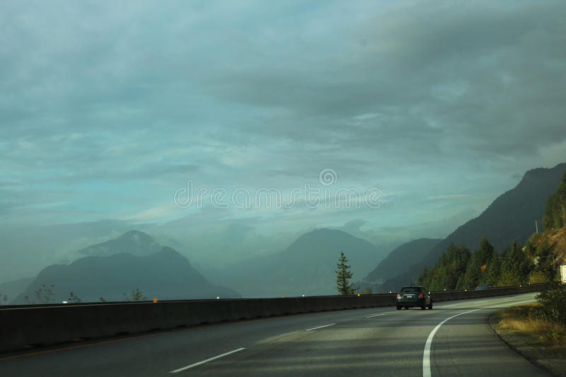 Road mountains