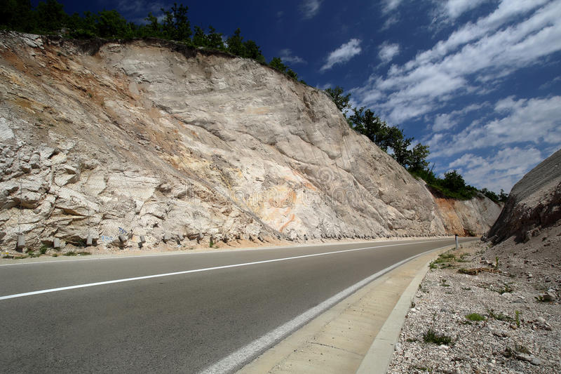 Road in mountings royalty free stock images