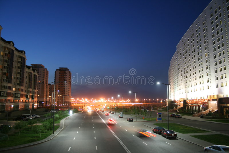Download Road Near Ministry (Astana) Stock Image - Image: 6062303