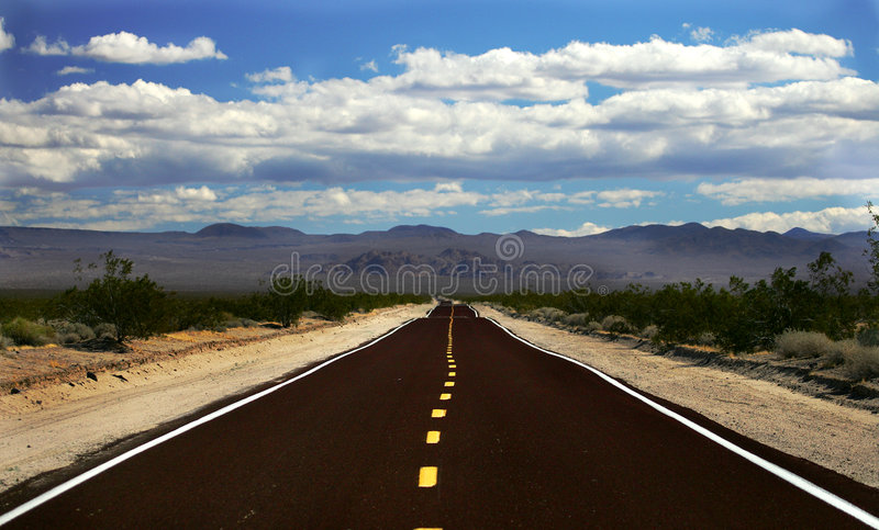 Road, Nevada stock images