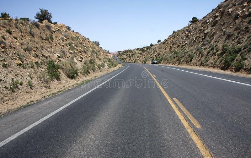 Road through north Arizona royalty free stock image