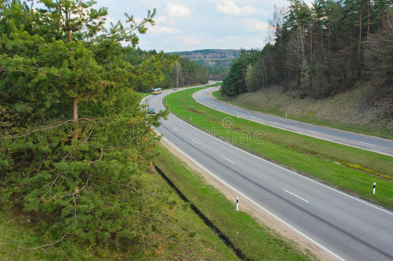 Download The Road On The Outskirts Of Vilnius Stock Image - Image of outskirts, vilnius: 24483087