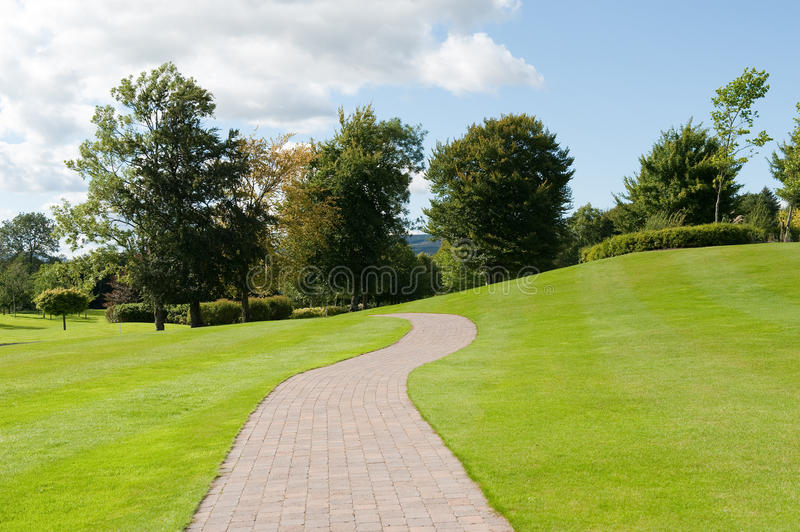 Download Road in the park stock photo. Image of footpath, view - 15721964