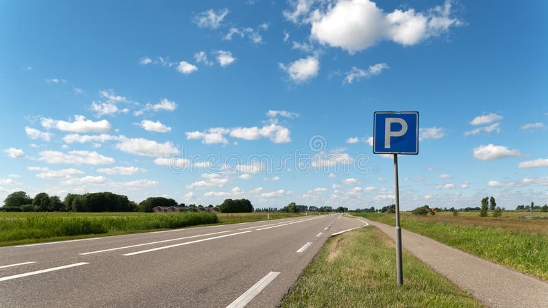 Download Road With Parking Stock Image - Image: 19604411