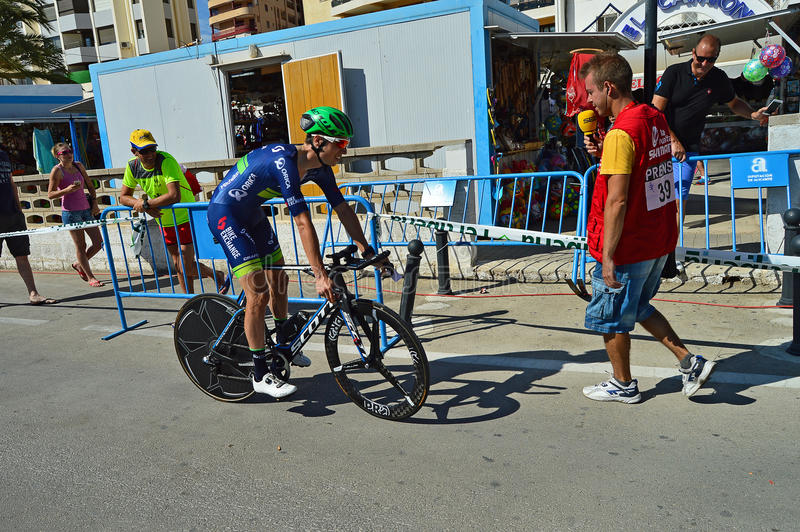 Road Racing Cyclist stock images