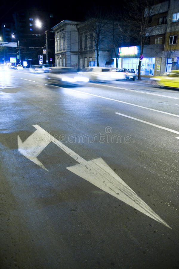 Download Road raffic marks stock photo. Image of cars, indicator - 20083310