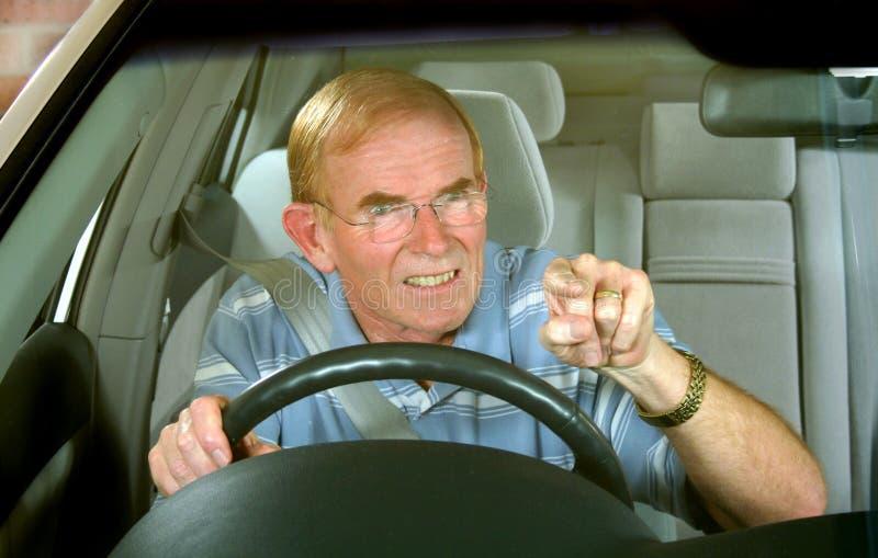 Road Rage 1 royalty free stock image
