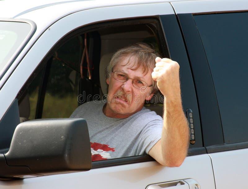 Road rage stock photos