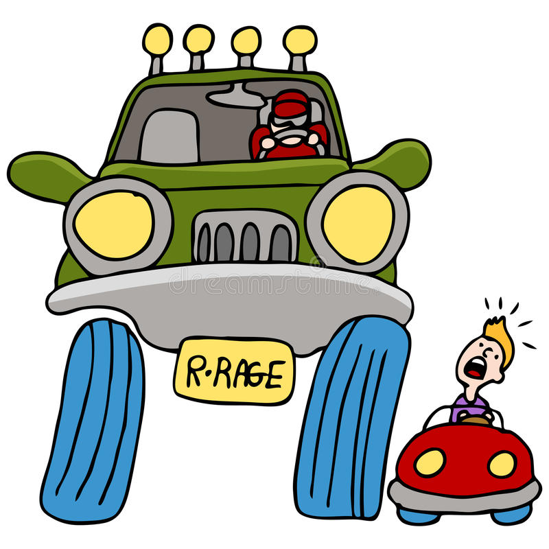 Download Road Rage Driver stock vector. Image of drawing, people - 19399584