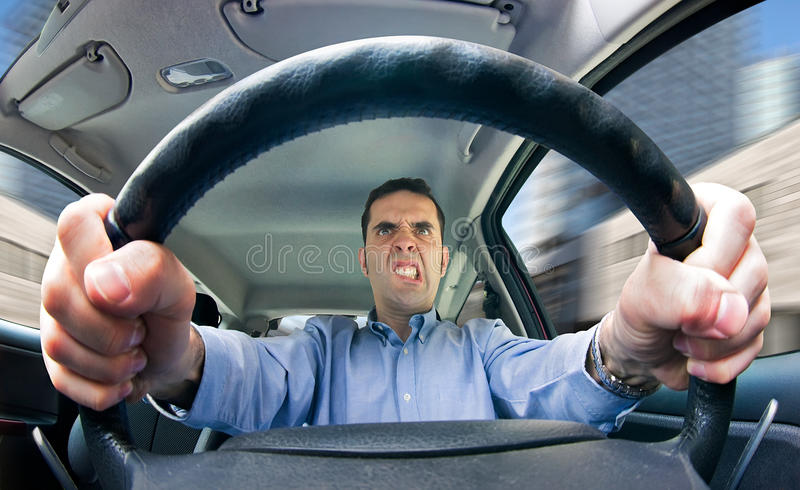 Download Road Rage (male) Royalty Free Stock Images - Image: 14298119