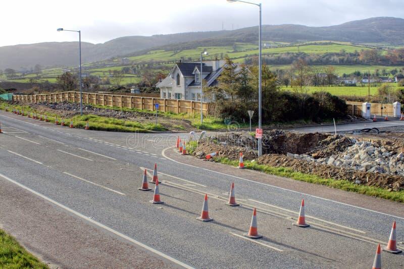 Download Road repair stock image. Image of cones, fluorescent, danger - 7102977