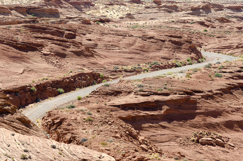 Download Road Between The Rocks To Page Stock Photo - Image: 25931728