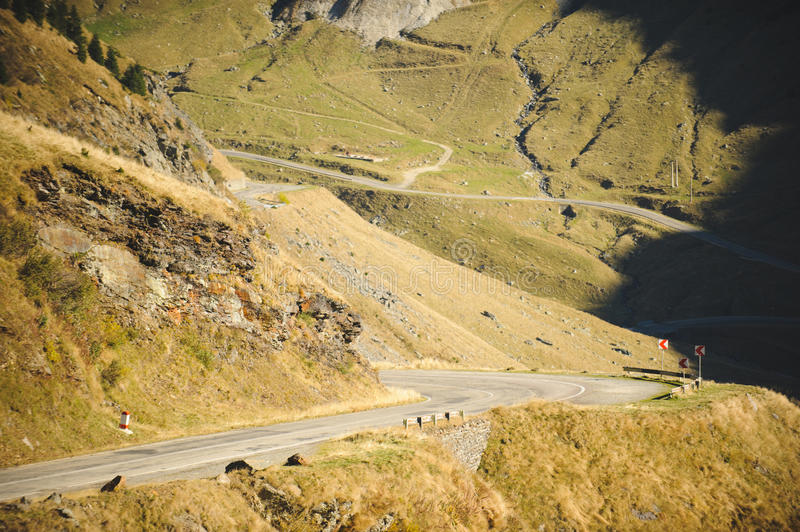 Road at Rocky Hills stock image