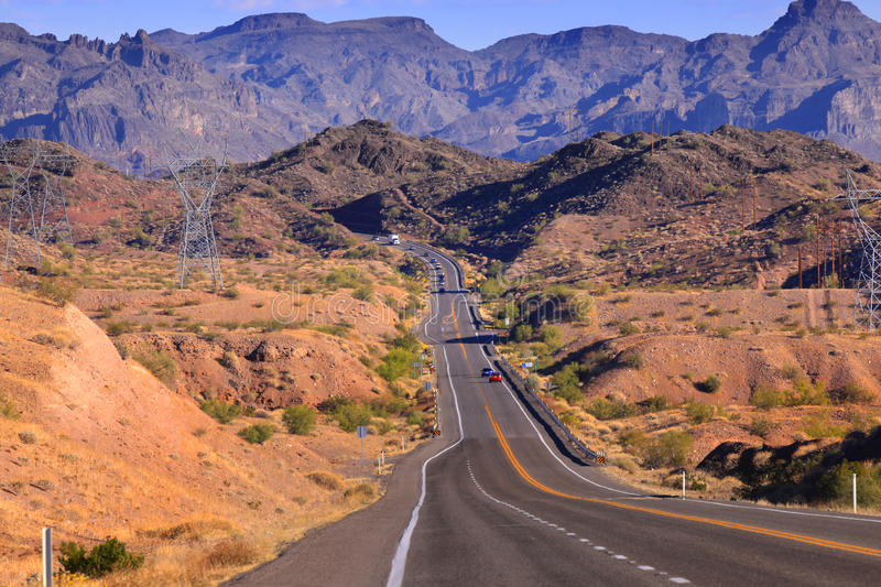 Download Road Through Rugged Terrain Stock Photo - Image: 27760410