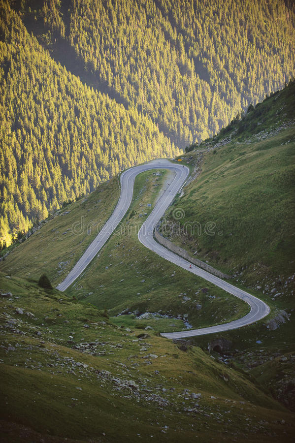 Road's Loop stock photography