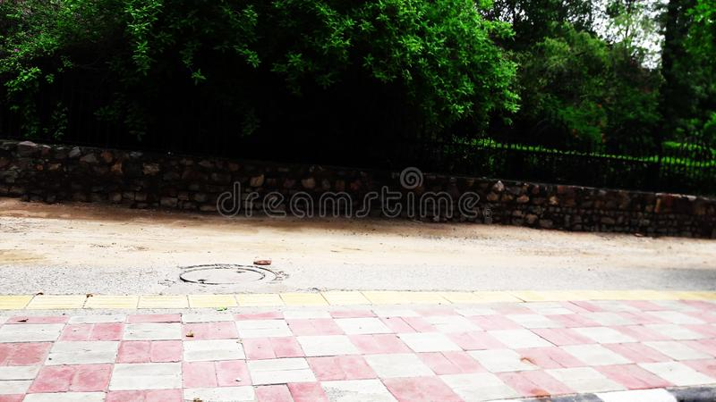 Road side view image royalty free stock photography