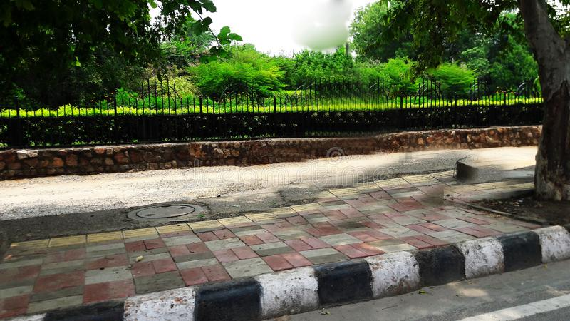 Road side view image stock photography