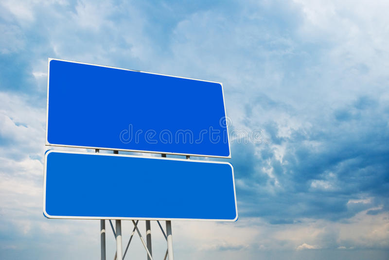 Download Road sign stock image. Image of announcement, clear, background - 12367039