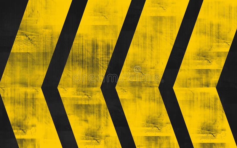 Road sign. With tyre marks on it royalty free illustration