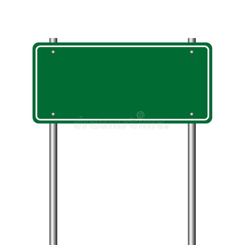 Road sign. stock illustration
