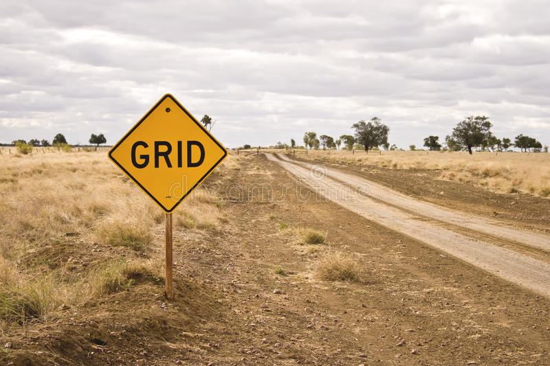 Download Road sign - Grid stock photo. Image of australian, grid - 20104764