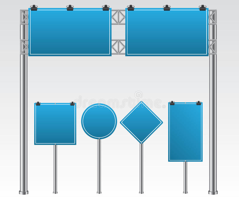 Road sign illustration vector illustration