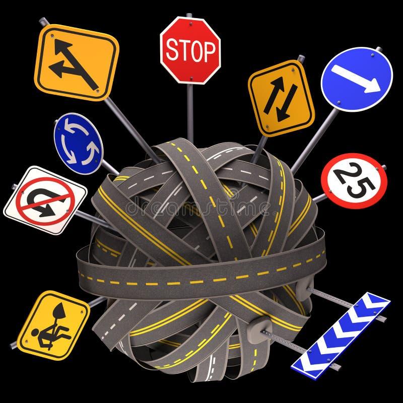 Road Sign Mess Way