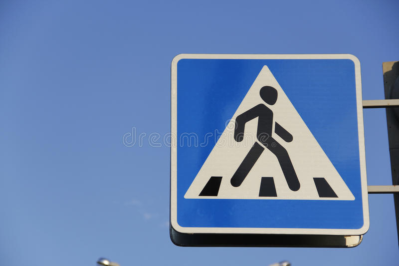 Download Road Sign Pedestrian Crossing. Stock Image - Image: 26959351